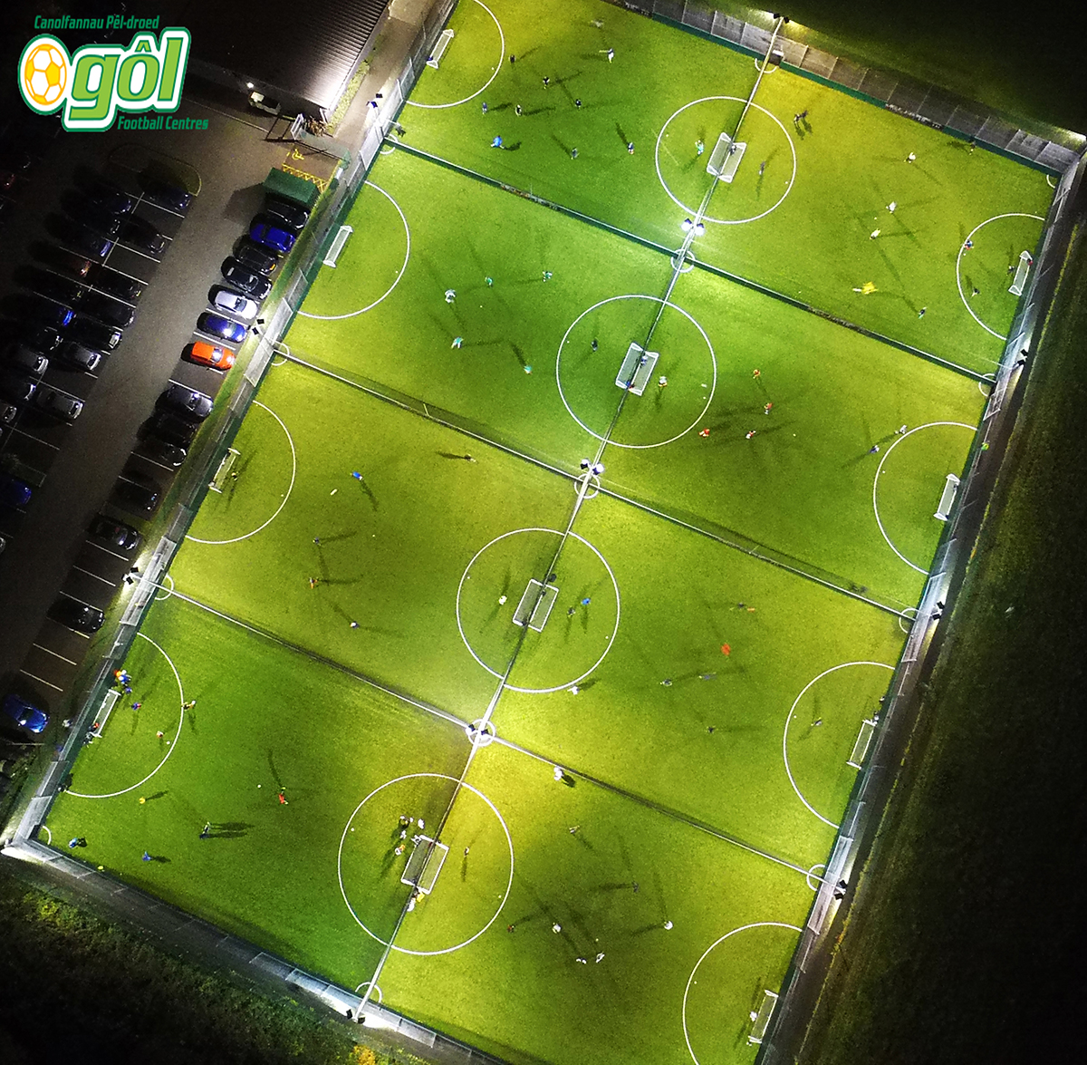 book a 5-a-side pitch in Cardiff